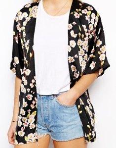 Asos floral kimono