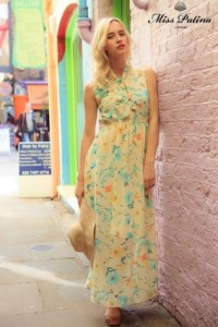 Miss Patina When In Woodstock Dress