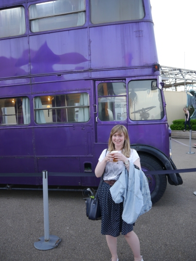 Knight Bus & Butterbeer Warner Bros Studio Tour
