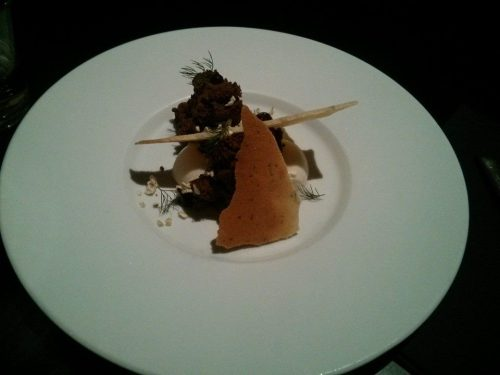 Kodbyens Fiskebar dessert