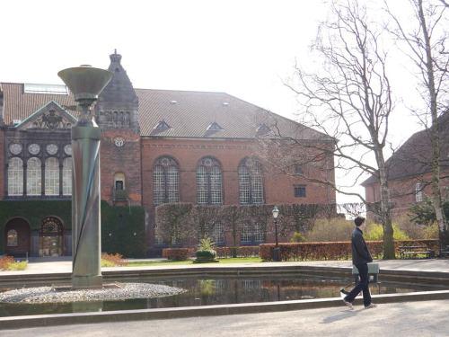 Copenhagen Royal Library Garden