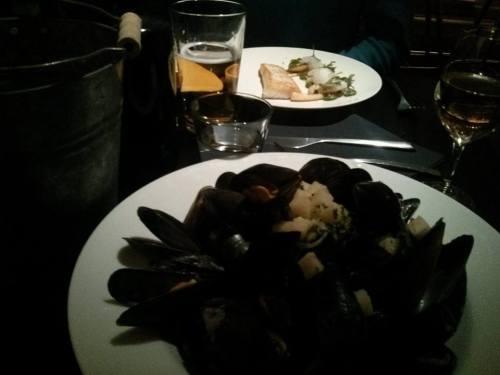 Kodbyens fiskebar mussels