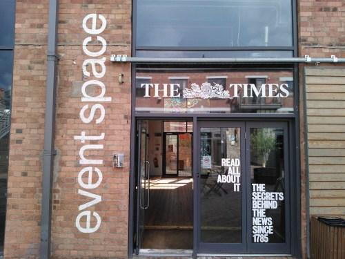 Times-newseum-Paintworks-Bristol