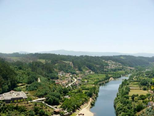 View from Penacova of Mondego River